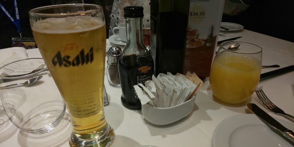 ビール・ジュース
